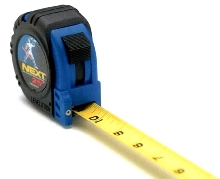 Tape Measure features Unleaded Measuring.