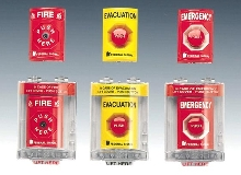 Initiating Devices function like fire alarm pull stations.