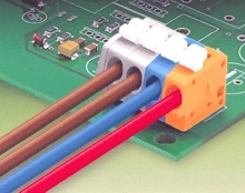 Terminal Strips suit printed circuit board applications.