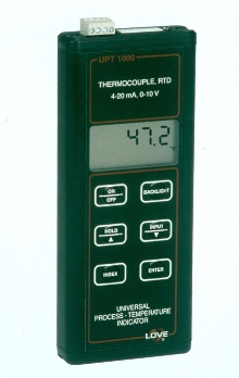 Handheld Indicator accepts multiple inputs.