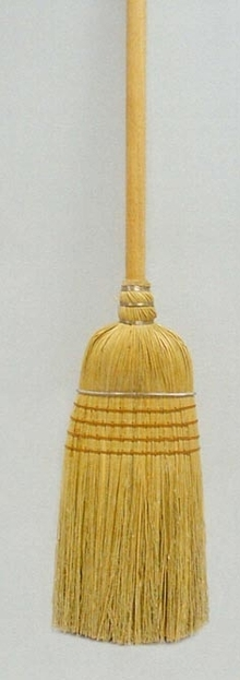 Upright Brooms provide efficient cleaning.