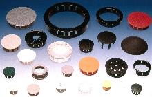 Custom-Color Dome Plugs provide seamless appearance.
