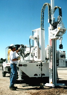 Drop Hammer combines geotechnical and environmental sampling.
