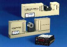 Laser Micrometers provide measuring range of .25 to 90 mm.