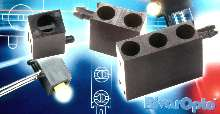 Locating Pin LED Holders suit high shock/vibration applications.