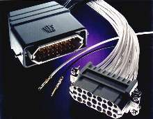 Connector accommodates high-volume manufacturing.