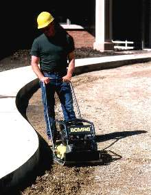 Plate Compactors provide high force at high frequency.