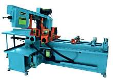 Swing Band Saw is fully automatic.