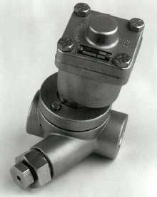 Steam Traps offer strainer and blow-down valve option.