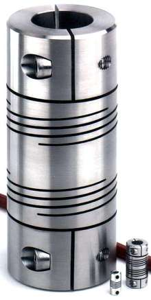 Beam Coupler suits power transmission applications.
