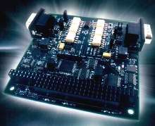 Communication Board provides dual RS-422/485.