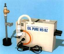 Oil Collection Device reduces machine tool coolant waste.
