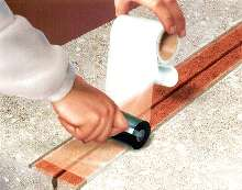 Joint and Crack Tape replaces caulks.