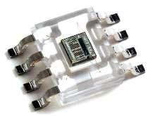Light Sensor converts light intensity to digital signals.