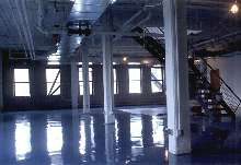 Coating System protects high traffic areas.
