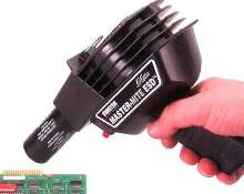 Heat Gun provides static control.