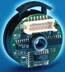 Rotary Optical Encoder has brushless commutation outputs.