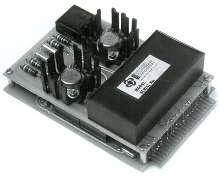Digital-to-Synchro Converters drive torque receiver synchros.