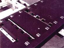 Accumulation Conveyor suits assembly/machining operations.
