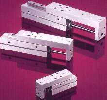 Slide units provide precision linear motion.