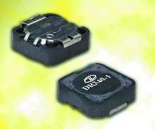 Inductors have low profile, surface mount design.