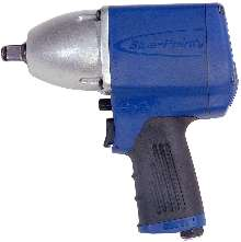 Impact Wrench provides both comfort and high torque.