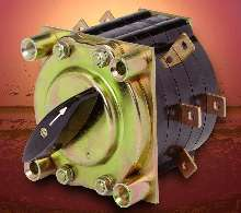 Snap-Action Rotary Switch withstands vibration and shock.