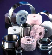 Grinding Wheels feature micro fracturing abrasive.