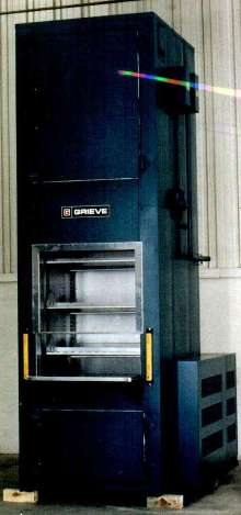 Vertical Conveyor Oven is electrically heated.