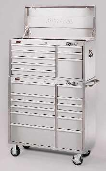 Tool Storage Unit is offered in stainless steel.
