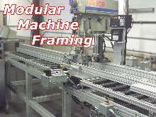 Aluminum Extrusions can be used to build assebly lines.