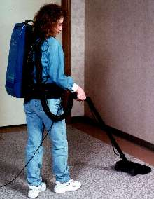 Upright Vacuums are offered in 14 and 18 in. sizes.