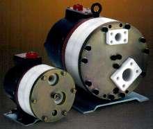 Pumps provide slurry metering.