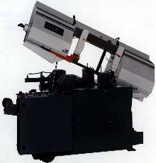 Horizontal Production Bandsaw is fully automatic.