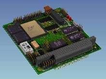 PC/104 Board combines interfaces for military applications.