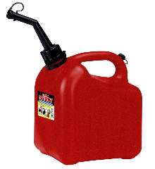 Gasoline Containers have child-resistant closures.
