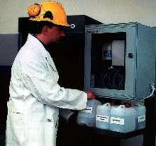 On-Line Effluent System monitors up to 5 process streams.