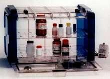Dessicator Cabinet eliminates monitoring of desiccants.