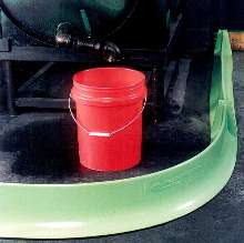 Fluid Containment Dike is chemical resistant.