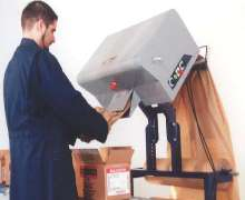 Packaging System uses recycled Kraft paper for void filling.
