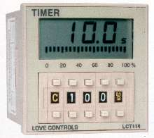 Digital Timer features 1/16 DIN package.