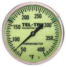 Thermometers are viewable in low-light environments.