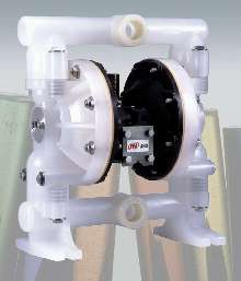 Diaphragm Pump is air-operated.