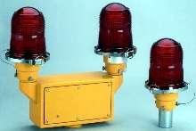 Lights warn pilots of air navigation hazards.