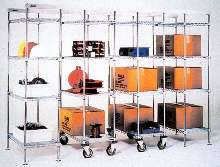 Overhead Track Storage System suits confined spaces.