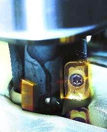 Radius Inserts allow 90 degree milling.