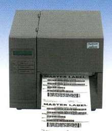 Thermal Label Printer accepts variable data input.