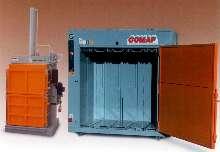 Compactors feature electro-hydraulic design.