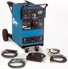 TIG Welder features adjustable balance control.