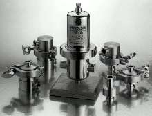 Steam Traps/Filters feature 316 stainless steel construction.
